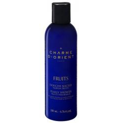 Charme d'orient douche-nacre-au-savon-noir-lhuile-dargan-parfum-fruits-200-ml