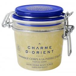 Charme d'orient gommage-alun-parfum-ambre-300-g