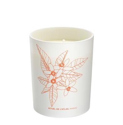 Cinq mondes - Bougie Aromatique Rituel de L'Atlas -180g