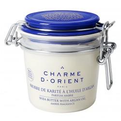 Charme d'orient beurre-de-karit-argan-parfum-ambre-200-g