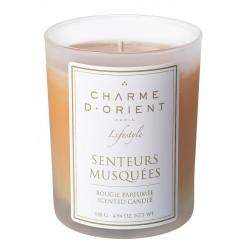 Charme d'orient - bougie-parfumee-aux-senteurs-musquees-