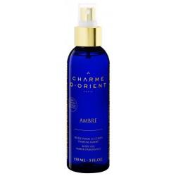 Charme d'orient huile-massage-bain-parfum-ambre-150-ml