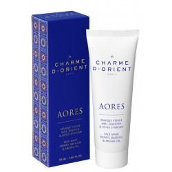 Charme d'orient masque-visage-miel-rassoul-l-huile-d-argan-50-ml