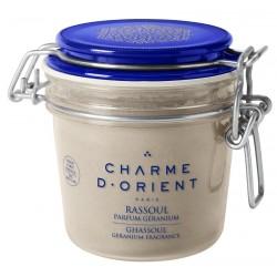 Charme d'orient rassoul-parfum-geranium-pot-terrine-250-g