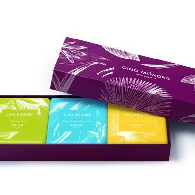 Cinq Mondes - Collection Savons Aromatiques