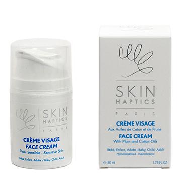 Skinhaptics - creme visage peau sensible